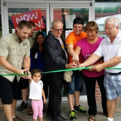 Mayor, council, family and friends for our grand opening! Such an amazing day!